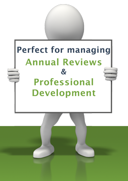 EMS 360 Perfect for managing Staff Reviews and Professional Development